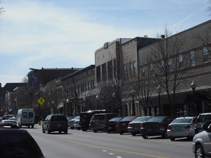 6. Downtown Historic District (Lawrence)