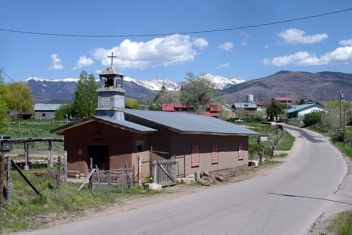 3. Continue along the High Road to Taos. En route, you'll pass through the mountain towns of Truchas...