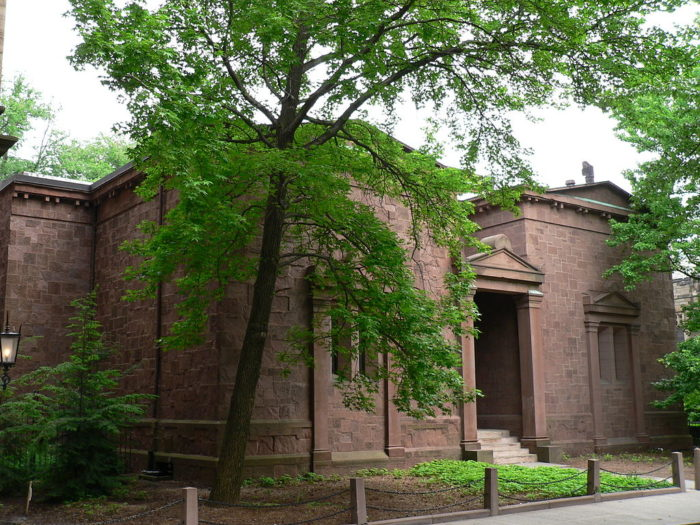 Skull and Bones is a secret society at Yale University.