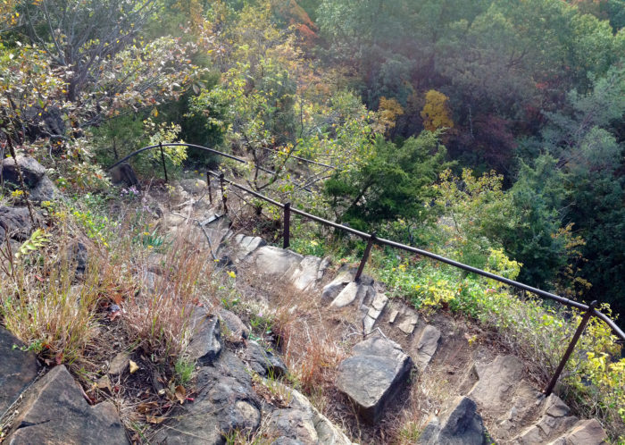 1. Giant Steps Trail (New Haven)