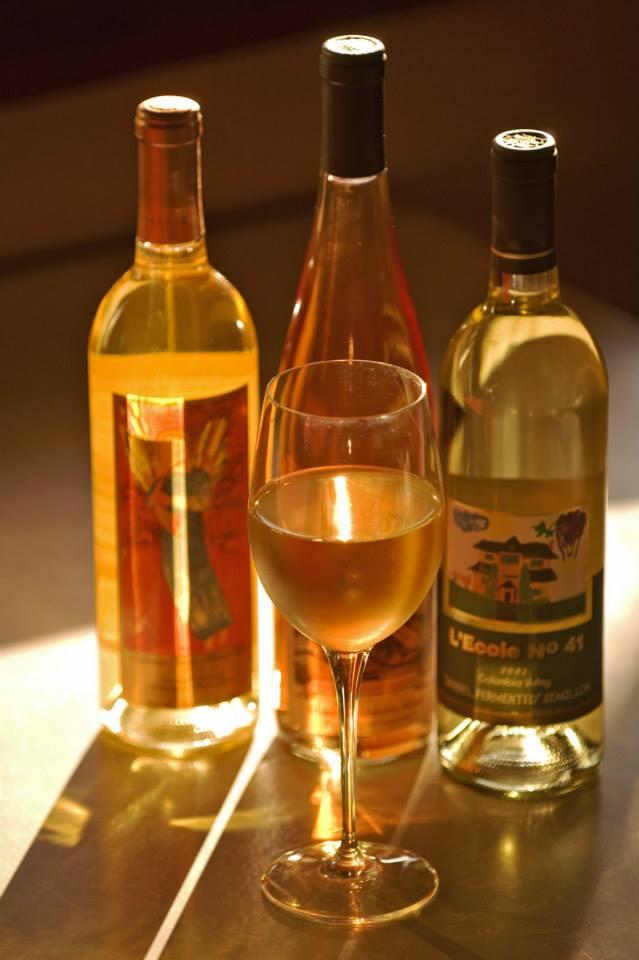 Enjoy Syringa Cafe's extensive wine list.