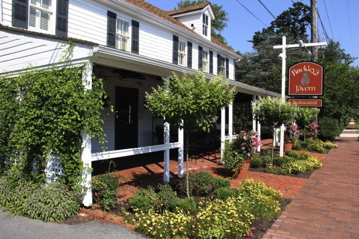 Along the way, you'll pass plenty of historic restaurants, like Buckley's Tavern.