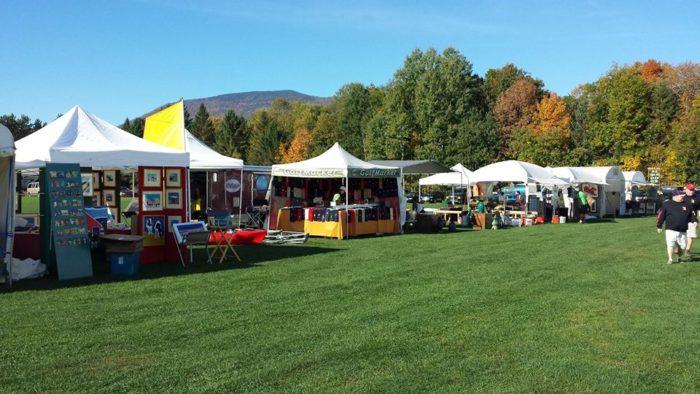 13.  Stowe Foliage Arts Festival - October 7, 8, & 9