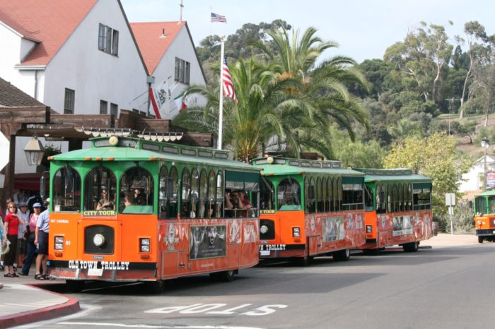 2. Or a trolley tour of the city...