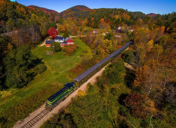 Hop on the Green Mountain Railroad.