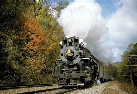 You can take a scenic ride through the Cuyahoga Valley National Park on Saturdays and Sundays throughout the year until the first weekend in October.