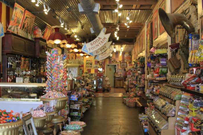 The selection is simply enormous, so rest assured you'll find your favorite childhood candy.