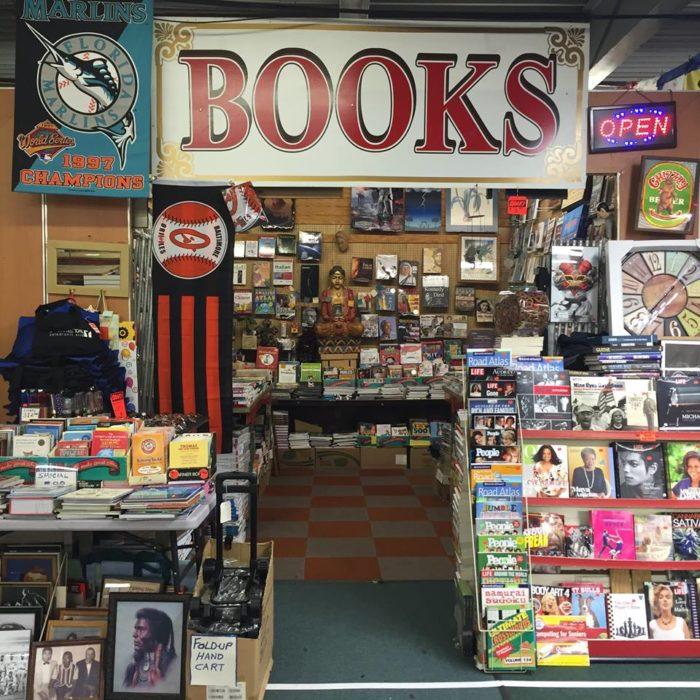 And books galore.