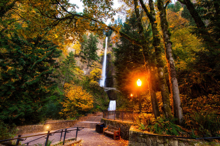Next Stop: Multnomah Falls