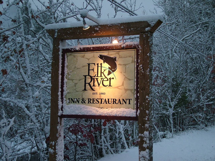 The restaurant is especially popular during ski season.
