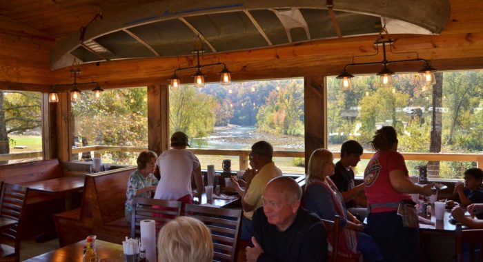 3. Byrd's Mulberry Riverfront Restaurant (Ozark)