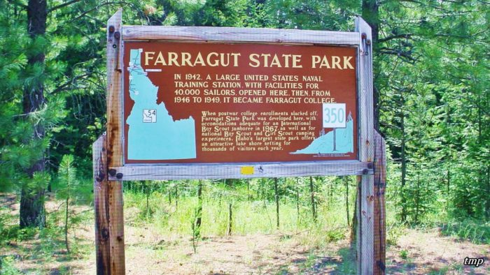 The ARD is also just a stone's throw away from Idaho's original Naval training base at Farragut.