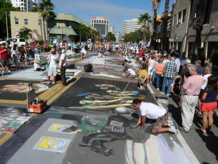 3. Sarasota Chalk Festival, Venice Airport Fairgrounds, November 11 - 14