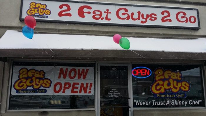 4. Best Greasy, Bad-for-You Burger, 2 Fat Guys