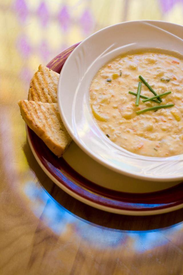 There are daily soup specials.