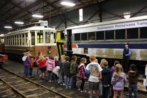Discover the magic of the trolley's history in Pennsylvania by viewing the collection housed at the museum. Snap photos of such historic trolleys as the 1946 St. Louis Car Company PCC, the 1912 Brill Open Car, and the 1895 Jackson & Sharp Suburban.