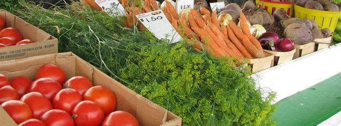 The farmers market, which runs from July until Thanksgiving Eve annually, promises a friendly atmosphere, fresh produce and good prices, prompting visitors to return again and again.