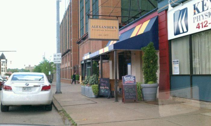 11. Alexander's Italian Bistro – 5104 Liberty Avenue