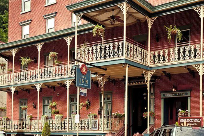 10. The Inn at Jim Thorpe – Jim Thorpe