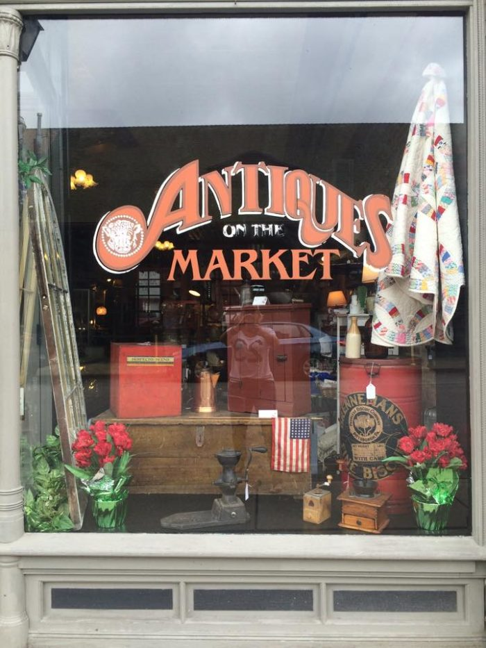 Antiques On the Market will take you back in time.