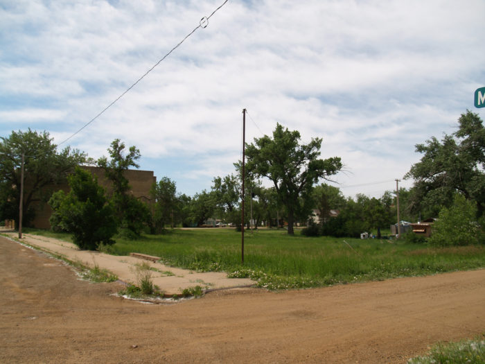 The town of Marmarth is not much more than this - abandoned buildings and dirt roads, far from other towns and among the wild badlands of North Dakota.