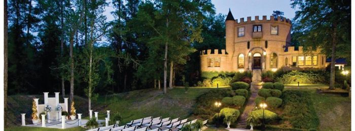 This makes the Louisiana Castle the perfect place to live your fairy tale.