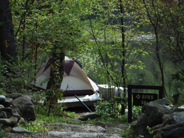 2. Lake Francis State Park, Pittsburg