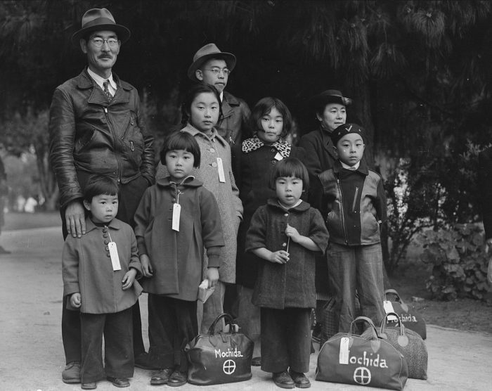 President Roosevelt ordered the forced relocation of up to 120,000 people of Japanese heritage in an executive order issued on February 19,1942.Sixty-two percent of those ordered to report to internment camps were U.S. citizens.
