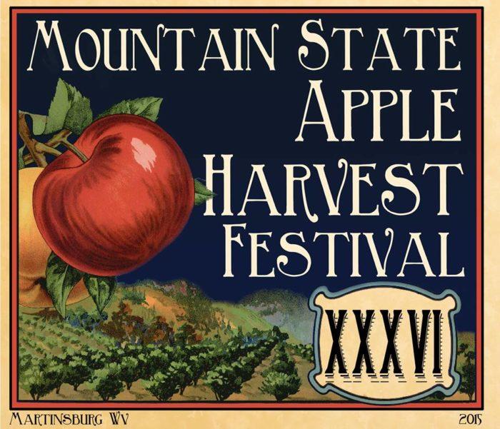 10. Mountain State Apple Harvest Festival - October 20-23, 2016