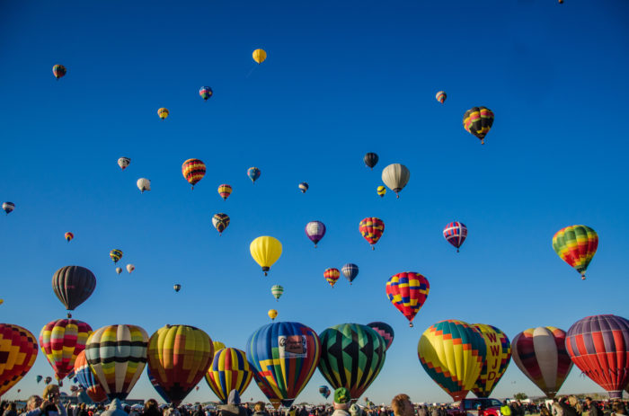 3. Attend the Albuquerque International Balloon Fiesta.