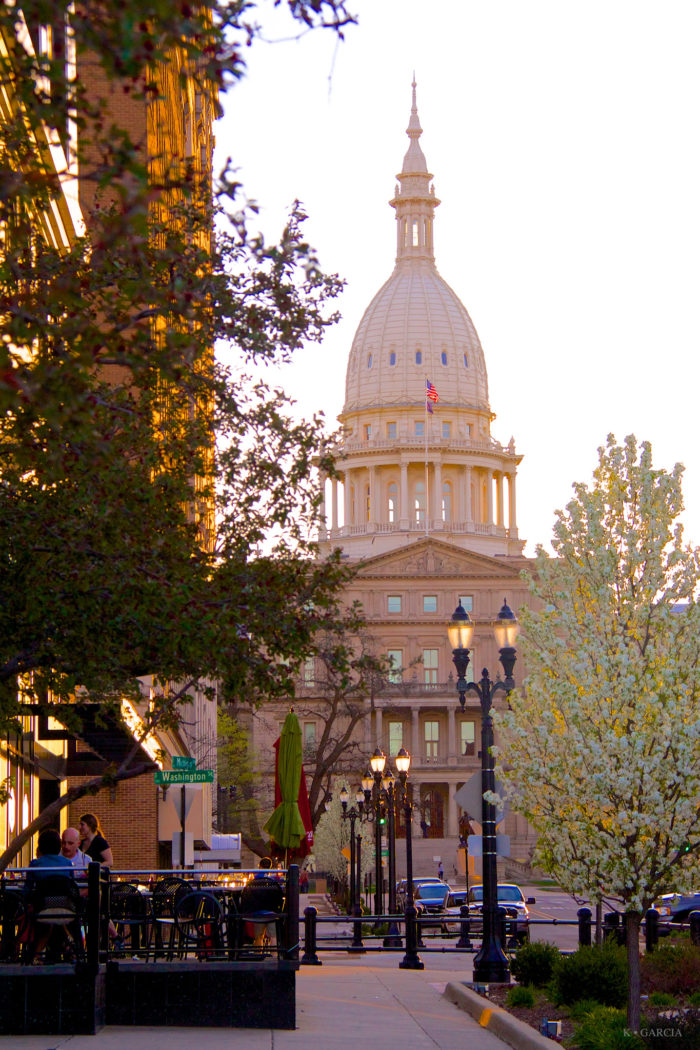 1. The state capitol building - Lansing. MI