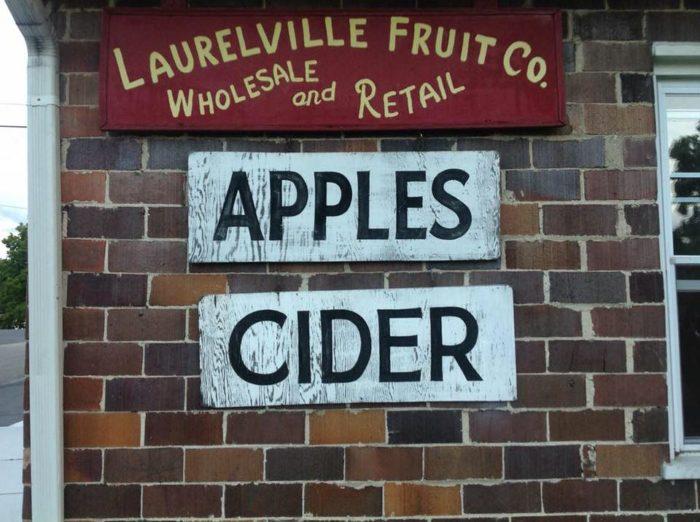 8. Laurelville Fruit Farm (Laurelville)