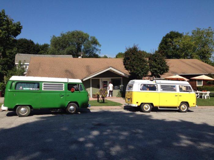 9.  The Brown Cow Cafe - 139 Main Street, Bennington