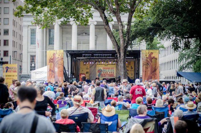 4) Crescent City BBQ &  Blues Festival, Oct. 14-16th @ Lafayette Square