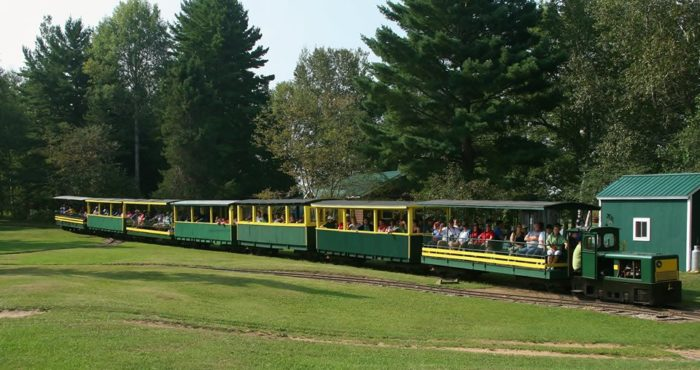 The Tahquamenon tour package is most famous for its beloved Toonerville Trolley, which picks up passengers from June through October each year.