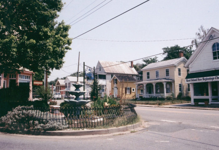 Head to the Stevensville Historic District to peruse the local shops and eateries...