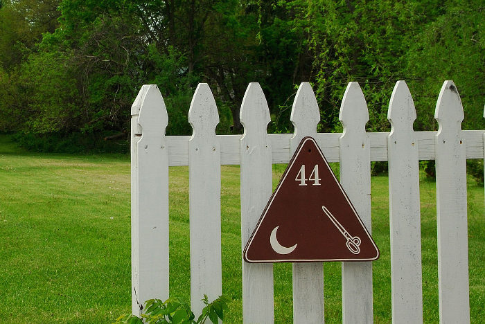 If you visit the town, you'll notice that there are many of these strange signs.
