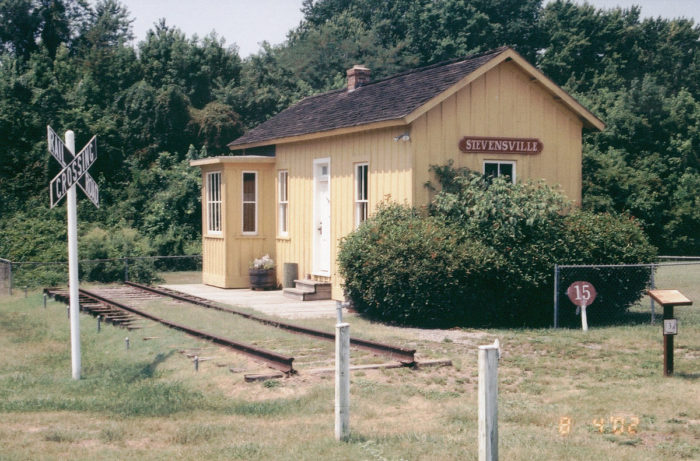 Or if you're a history lover, see the historic sites, like the Stevensville Train Depot.
