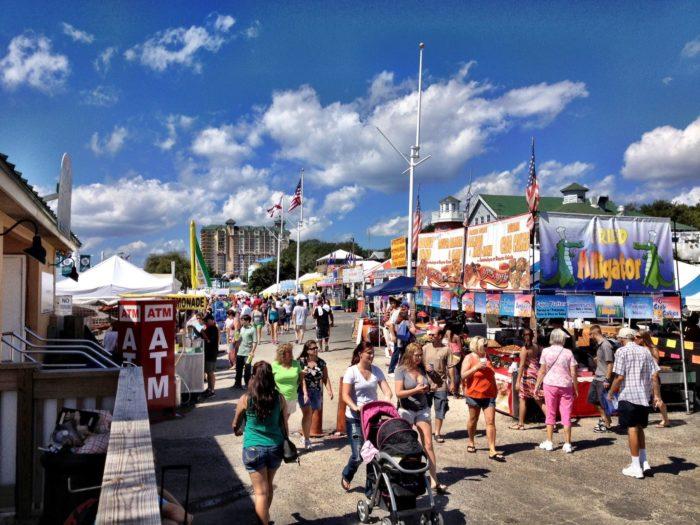 8. Destin Seafood Festival, September 30 - October 2