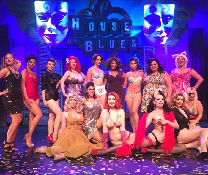 1) New Orleans Burlesque Festival, Sept. 15th – 18th