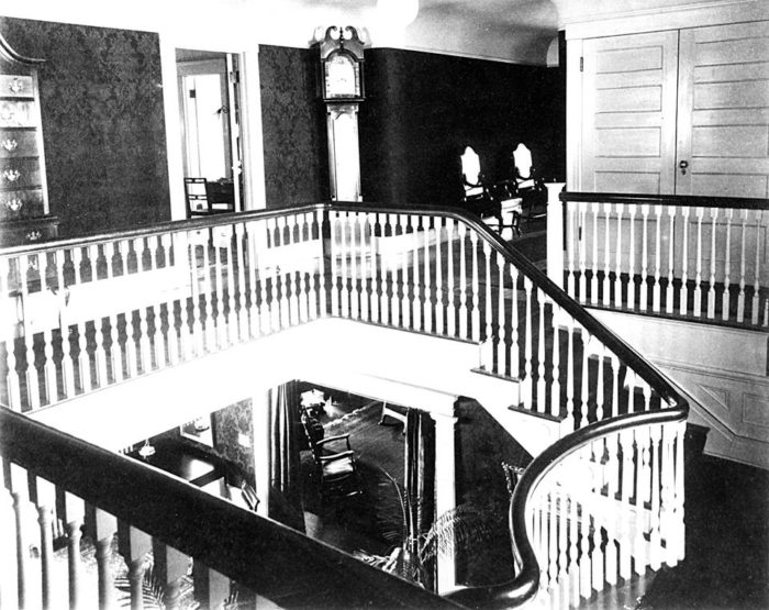 The mansion has a rich history.