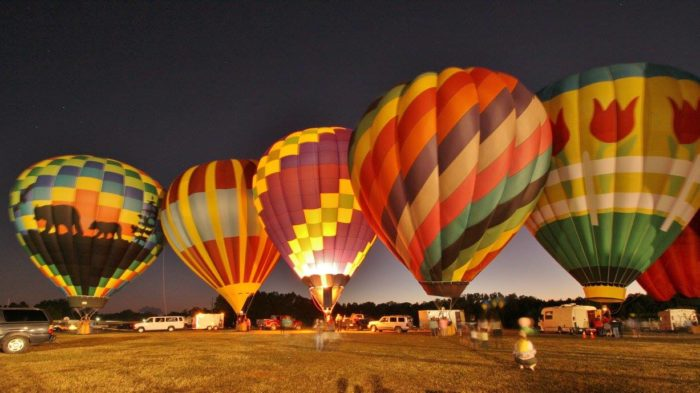6. Balloons Over Anderson - October 7 - 9, 2016 - Anderson, SC