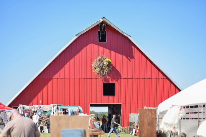 The Junk Ranch comes complete with a big barn full of treasures.