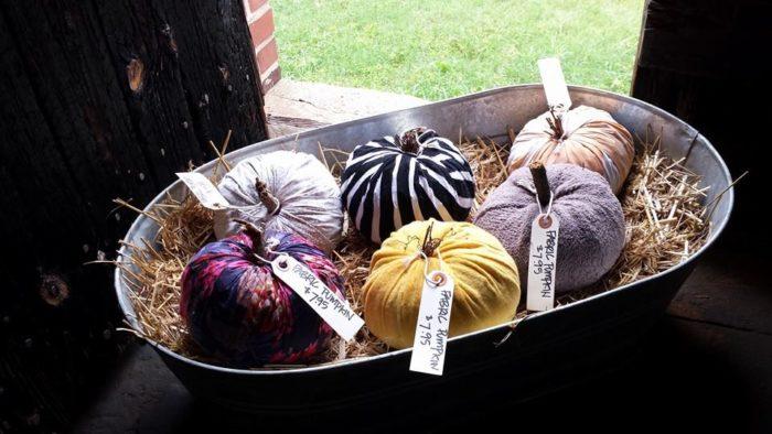 Fabric pumpkins, anyone?