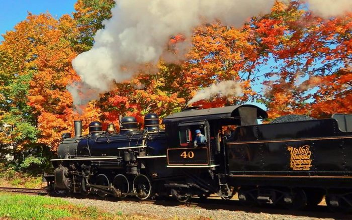 There's also the Haddam Special, a seasonal ride that takes place on weekends in October.