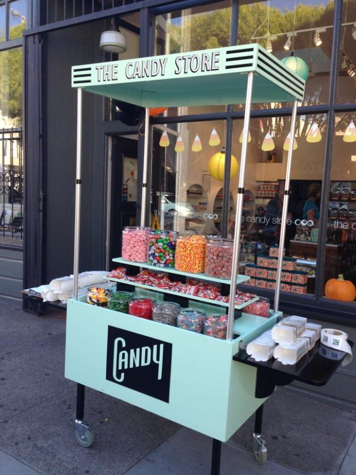 This memorable and special candy store is located  at 1507 Vallejo Street in the Russian Hill neighborhood of San Francisco.