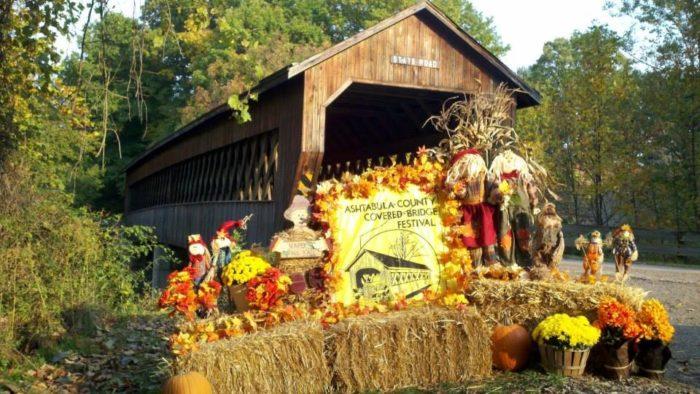 6. Ashtabula County Covered Bridge Festival (Jefferson)