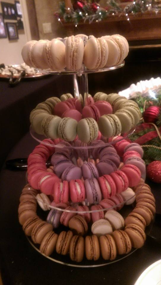But the daily special entrees aren't the only remarkable part of The Speakeasy's offerings. There are special desserts like tiramisu, make-your-own s'mores, and these delectable-looking French macarons...