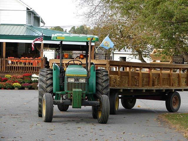 Today, modern machinery makes apple picking in Delaware a family friendly event.