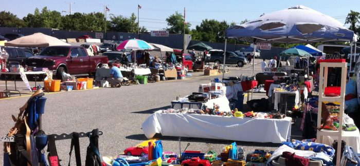 When it comes to flea markets, it's pretty much the complete package.